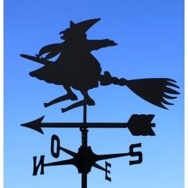 segnavento banderuola strega