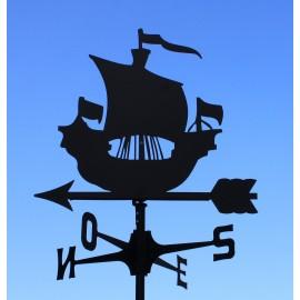 Segnavento banderuola Caravella