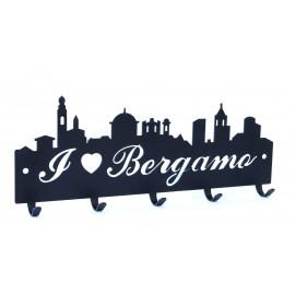 """Appendi chiavi """"I Love Bergamo"""""""