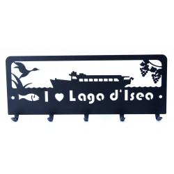 "Appendi chiavi ""I Love Lago d'Iseo"""