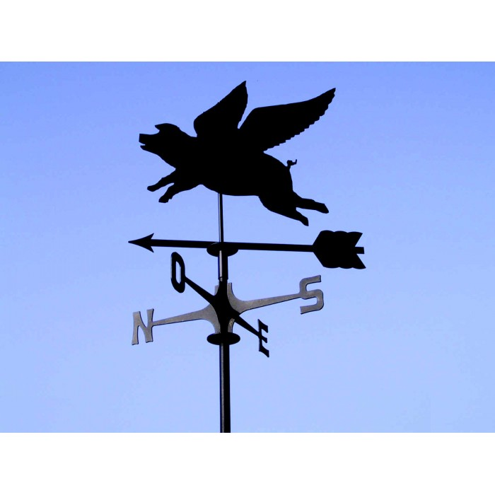 segnavento maiale volante flying pig