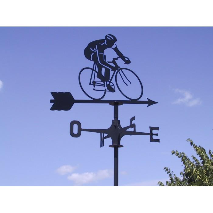 Segnavento Ciclista