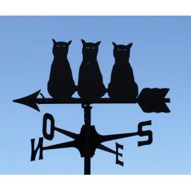 segnavento serenata 3 gatti